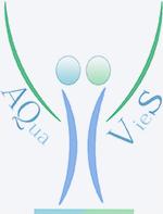 Logo Aquavies Fond Gris